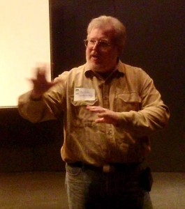 Joe Bodin, Lecturing for FIBA at the Coconino Center for the Arts